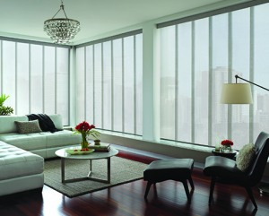 Custom Shades - Victoria and Vancouver | Sliding Panel Shades