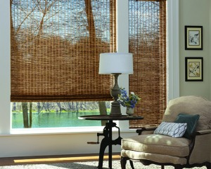 Custom Shades - Victoria and Vancouver | Wood Woven Shades